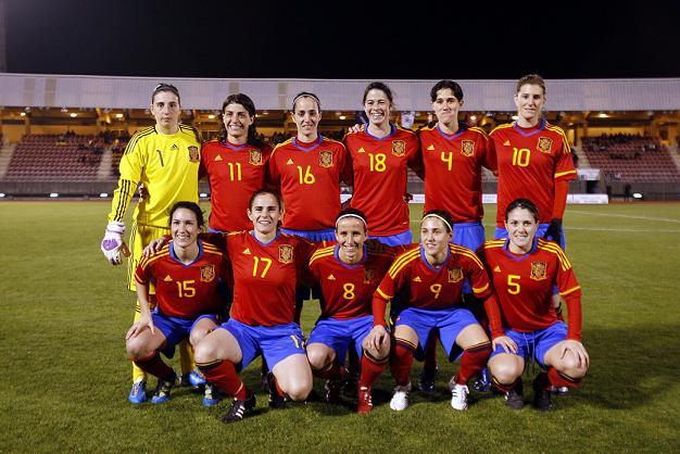 España vence (4-1) a Austria en su primer partido de 2012 - Femenino ... 113df4cf7a788