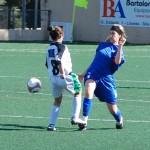 Virginia en un partido con la Selección Balear