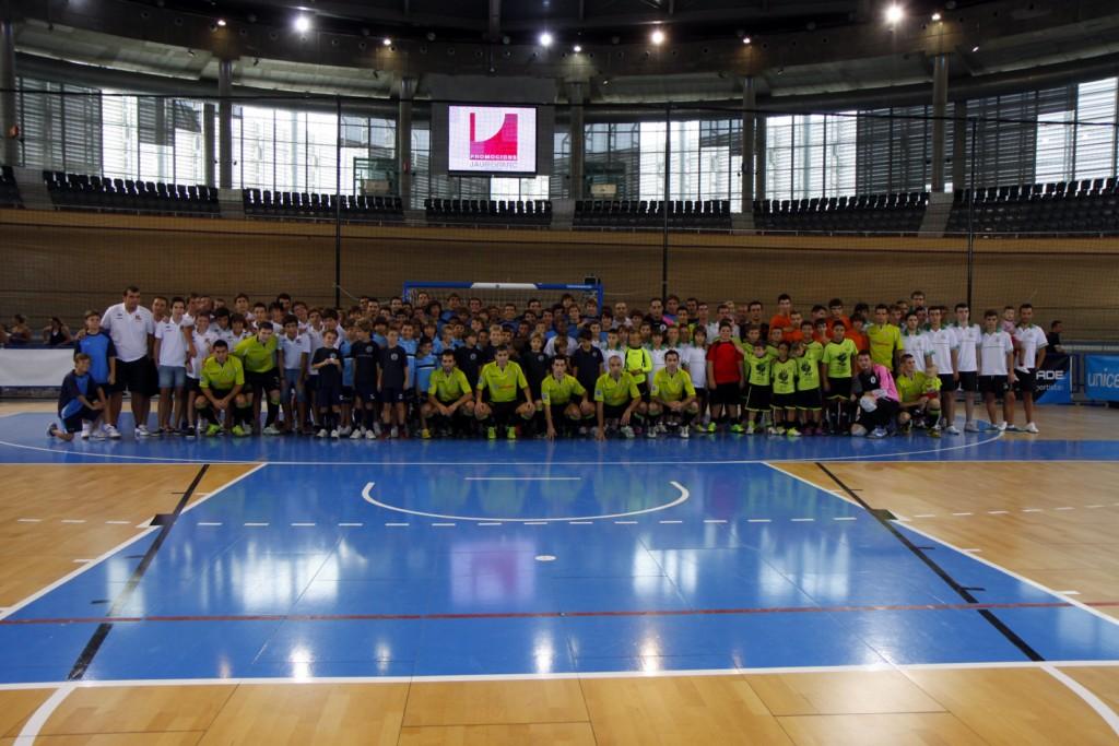 El fisiomedia celebra los xitos de las bases f tbol for Federacion de futbol sala