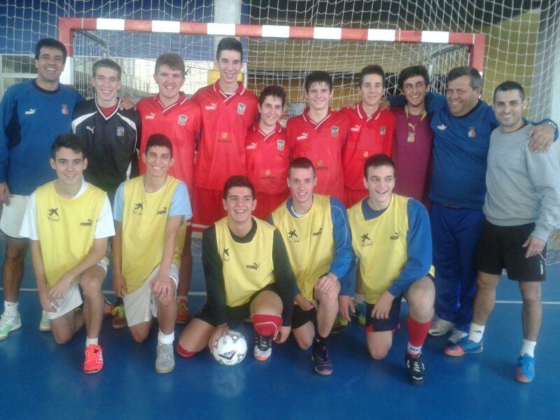 Campeonato nacional de selecciones auton micas de f tbol for Federacion de futbol sala