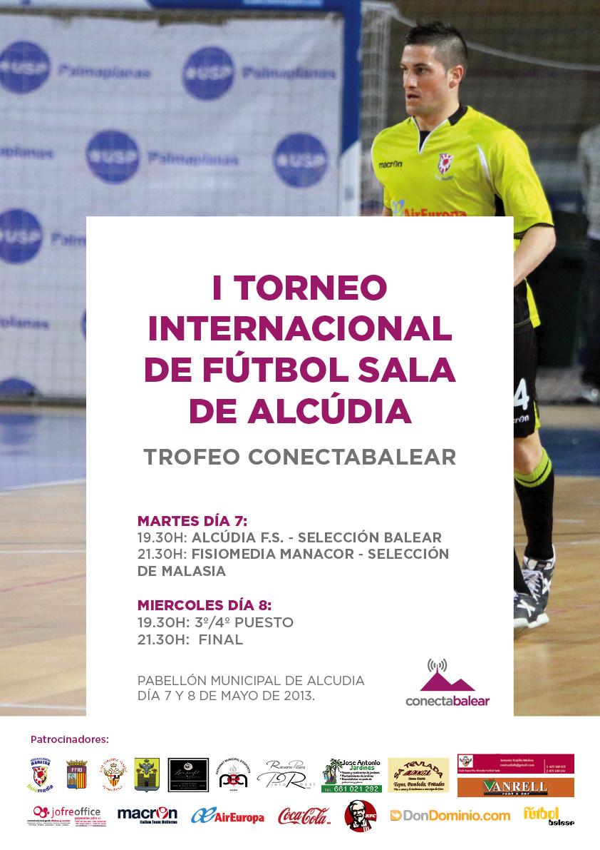 I torneo internacional de alcudia de f tbol sala trofeo for Federacion de futbol sala