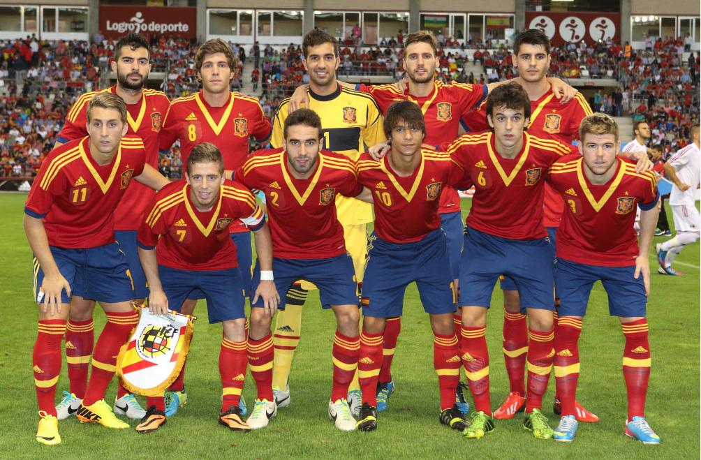 07696f924d214 España se apunta al festival del gol en Las Gaunas (4-0 ...