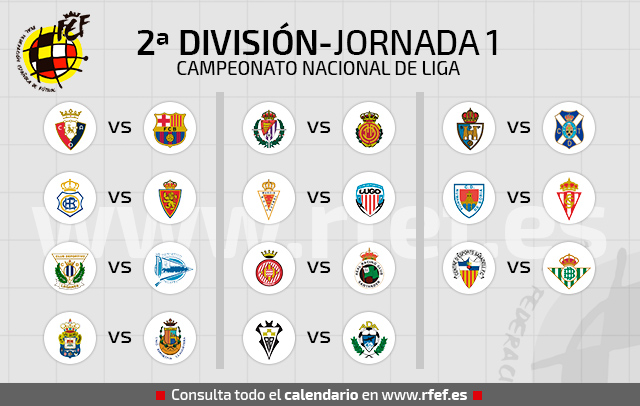 Calendario Liga Segunda.Ya Tenemos Calendario De Liga De Segunda Division Segunda Division