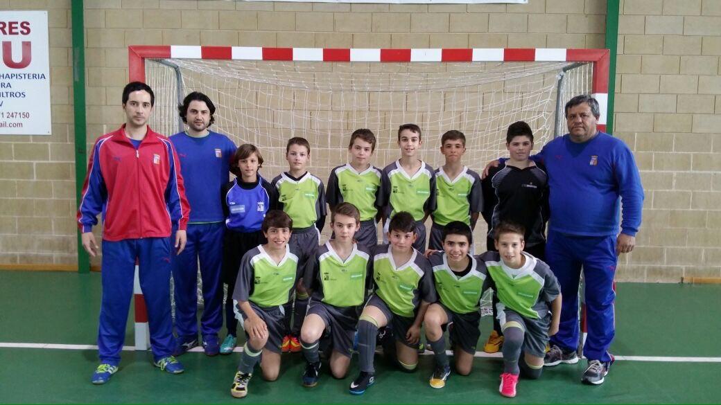 La selecci n balear alev n f tbol sala juega el campeonato for Federacion de futbol sala