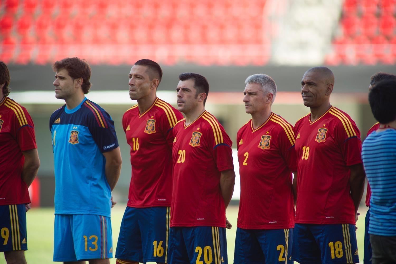 Hilo de la selección de España DSC9398
