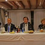 Vicente Miera, Jesús díaz y el presidente de la federación Balear de fútbol Miguel Bestard