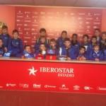 Vistaren l'estadi RCD Mallorca i l'entrenament a Son Bibiloni i visita del Javier Olaizola entrenador del RCD Mallorca.