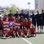 El At. de Madrid ha participado en categoría alevín