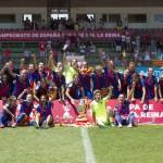 El Barça campeón de la Copa de La Reina