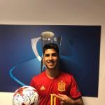 Tres goles de Marco Asensio con la Española
