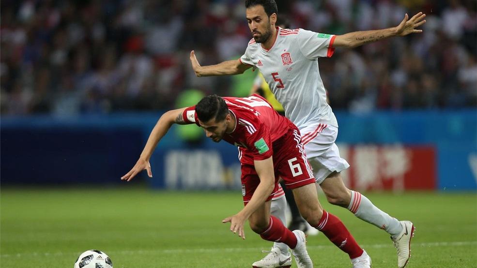 Crónica Copa Mundial de la FIFA Rusia 2018  Irán 0 – 1 España - Federación 469f15bbb8b23