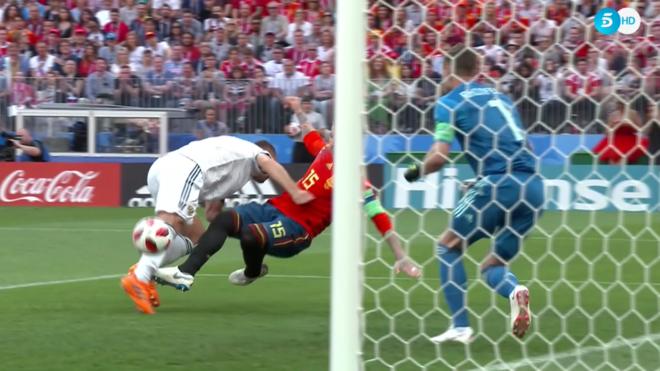 b08a7934652a2 Crónica Copa Mundial de la FIFA Rusia 2018  España 1-1 Rusia  España  eliminada - Fútbol Internacional