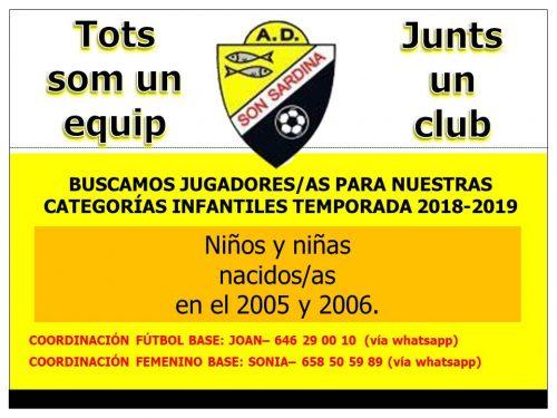 Infantiles - FutbolBalear.es