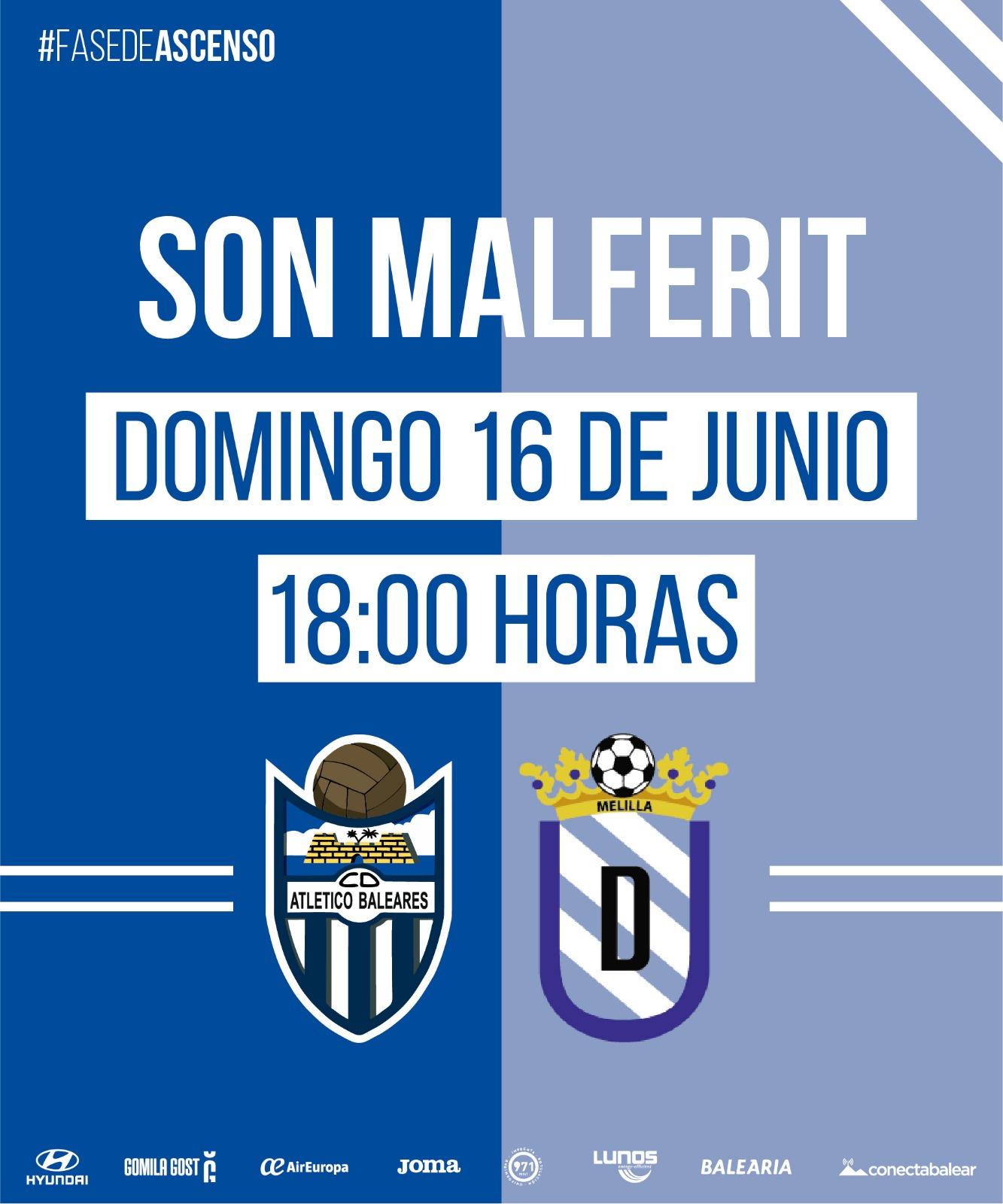 ATB-Melilla el domingo a las 18:00 horas en Son Malferit - Segunda B ...