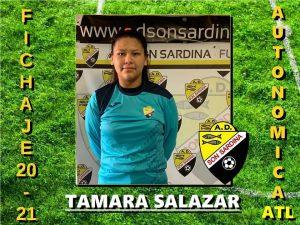 Alba Tamara Salazar ficha por el Son Sardina Atlético de La Liga Autonómica