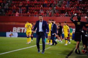 """Luis García Plaza: """"Hemos disfrutado con la afición"""""""