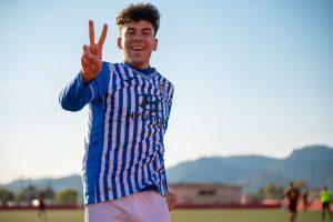 Miguel Susarte, el pichichi de liga juvenil nacional